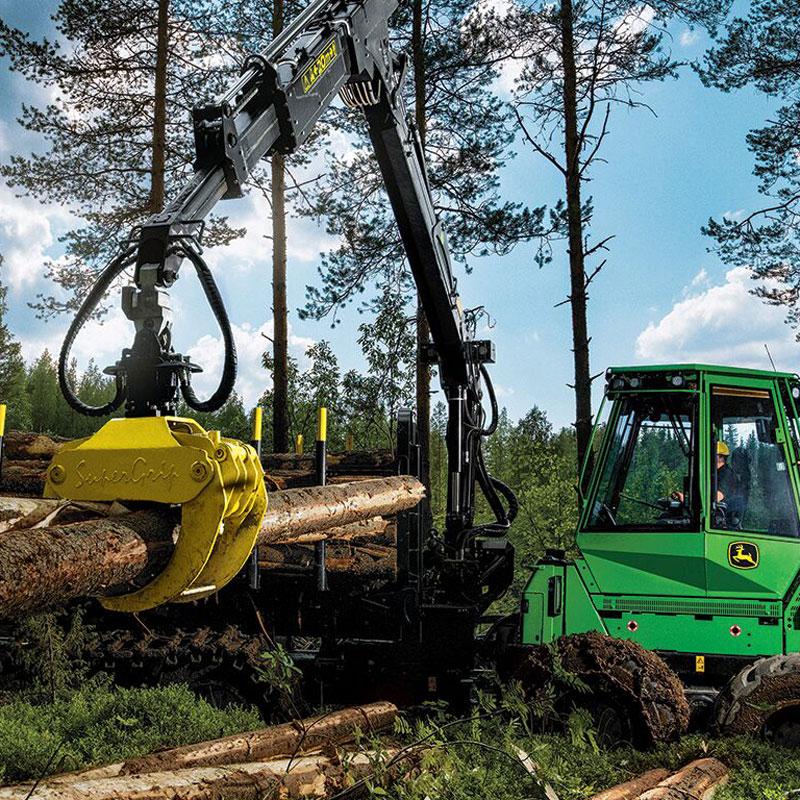 Uw partner in bosbouwmachines
